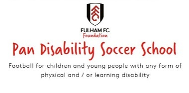 Pan Disability Soccer School