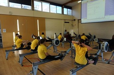 Barns Elm Rowing club Visit